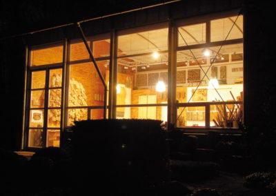 Atelier bei Nacht